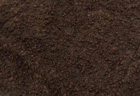 tessuto marrone in mohair