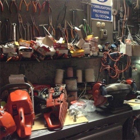 riparazione macchine shindaiwa