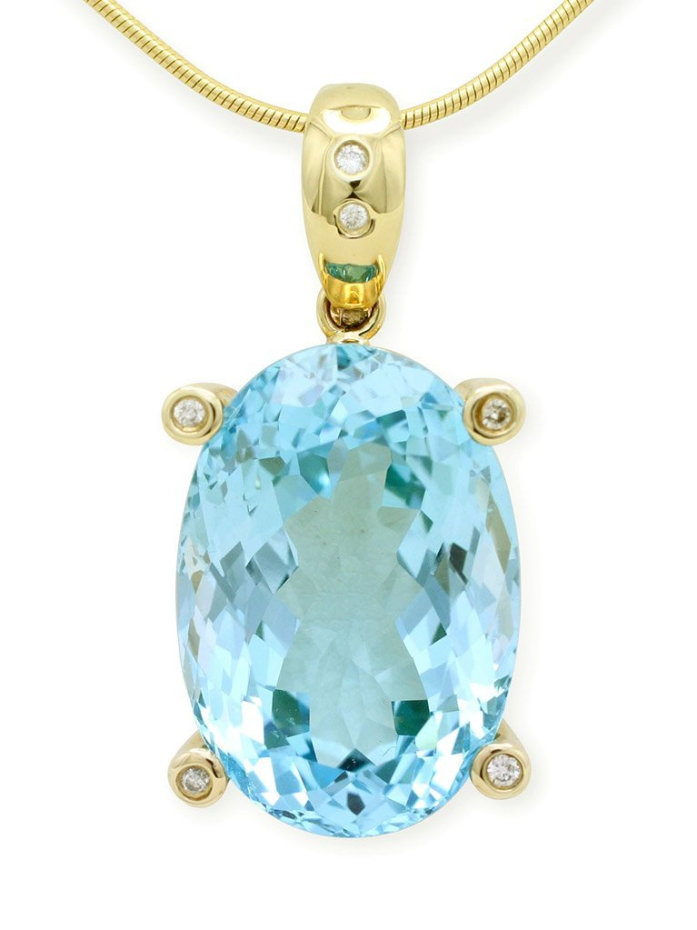 girls love pearls light blue topaz diamond claw enhancer