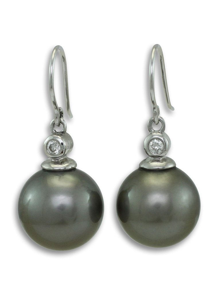 girls love pearls tahitain south sea rubbed diamond white gold