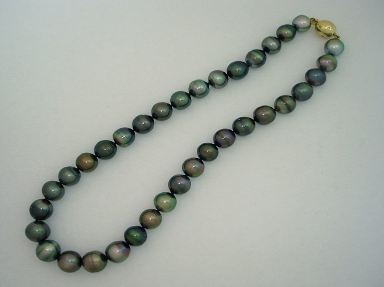 girls love pearls tahitian mixed colour strand