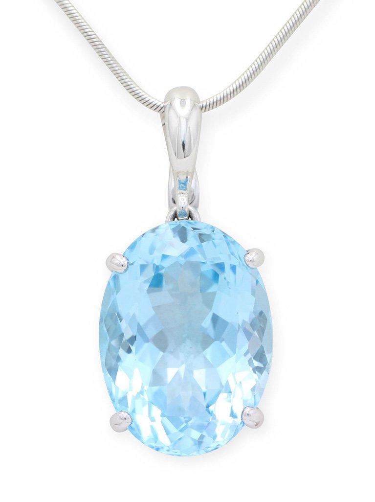 girls love pearls topaz light blue enhancer
