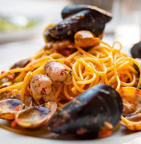 piatto ristorante Polignano a Mare