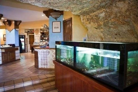Acquario ristorante La tana marina