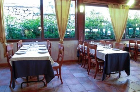 Tavoli ristorante La tana marina
