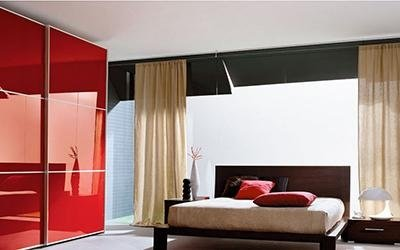 armadio rosso