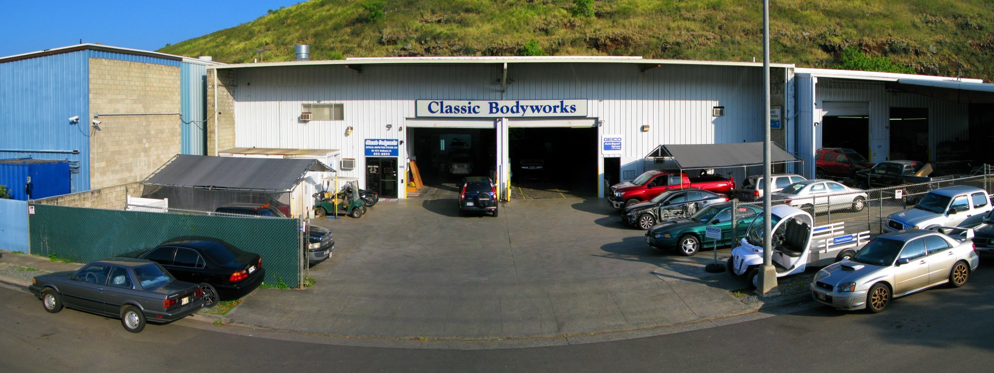 Our auto body repair shop on Oahu, HI