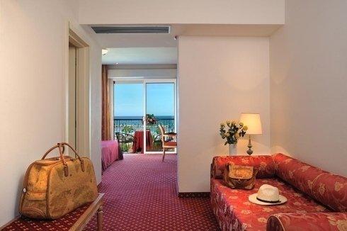 Ingresso camera da letto Hotel Bristol