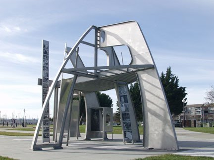 Rosie The Riveter Memorial Sculpture