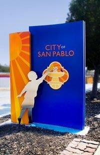 City of San Pablo Sign