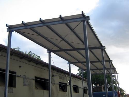 Coperture per strutture in ferro perugia digilio teloni - Struttura in ferro per casa ...