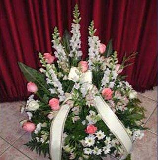 Cuscinetti e corone funebri