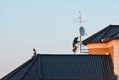 sky dish repair