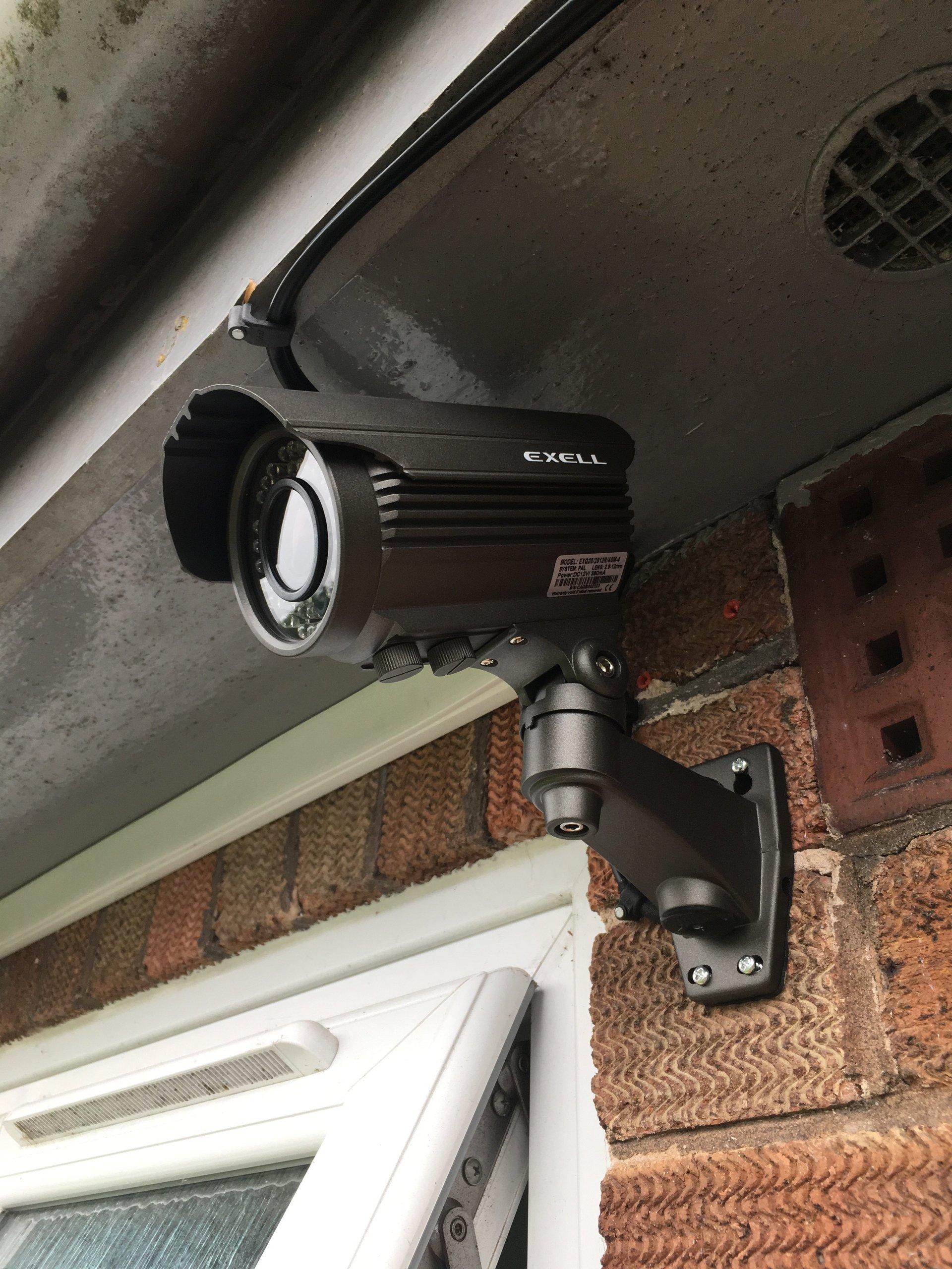 CCTV installation Sandbach Cheshire