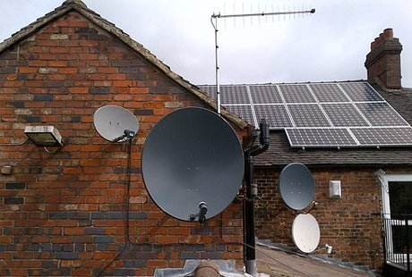 Satellite dish installer Sandbach Cheshire