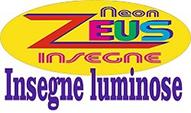 NEON ZEUS INSEGNE LUMINOSE - LOGO