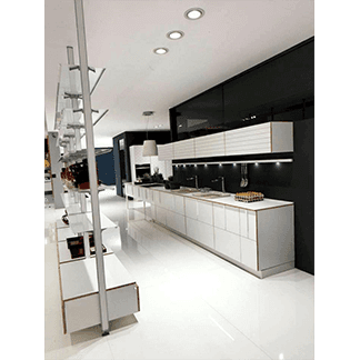cucina Aran bianca
