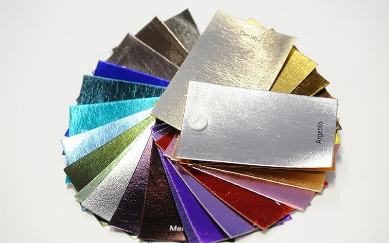 Campionario tessuti metallizzati a milano