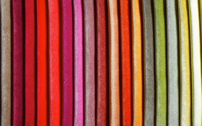 Colori tessuti naturali milano