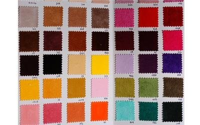 colori tessuti floccati