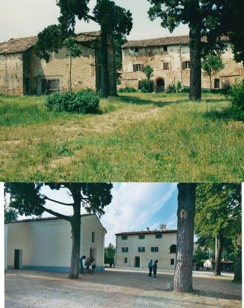 Ristrutturazione di complesso residenziale composto da fabbricato del 1300 e chiesa del 1800