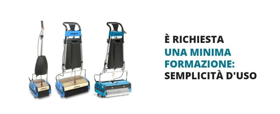 macchine per la pulizia semplici da usare