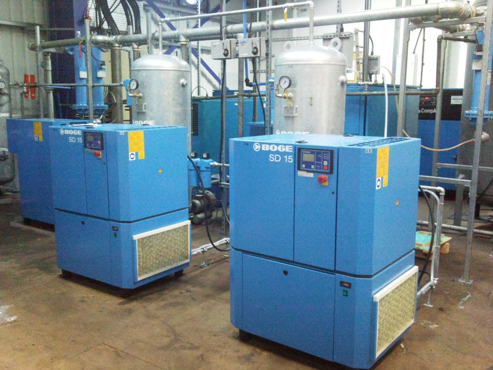 Air compressor equipment design