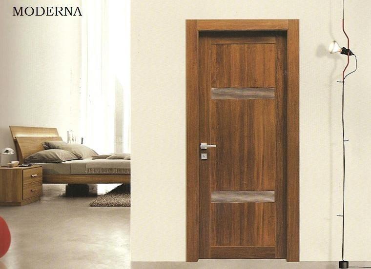 Porta in legno massello
