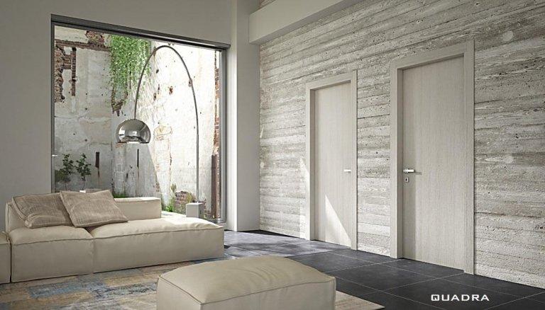 arredamento camera con porte in legno