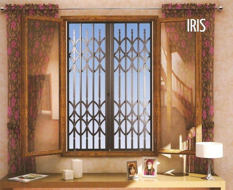 progetto di una finestra IRIS