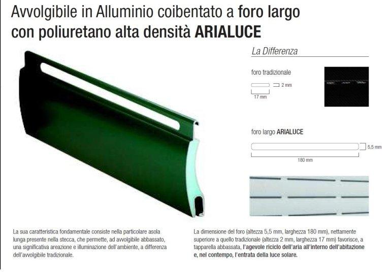 abile in alluminio coibentato