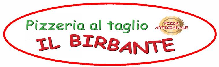 PIZZERIA AL TAGLIO IL BIRBANTE - LOGO