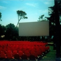 allestimento cinema in esteno