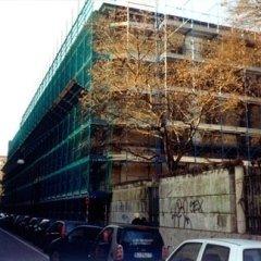 rifacimento facciate edificio scolastico