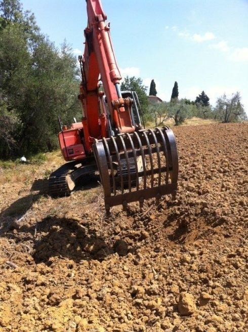 scavi agricoli, dissodamento, sbancamento, spalletti scavi fireenze