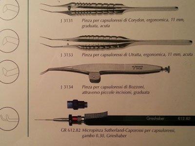 Lo studio specialistico è specializzato in chirurgia oculistica