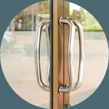 maniglione porta esterna