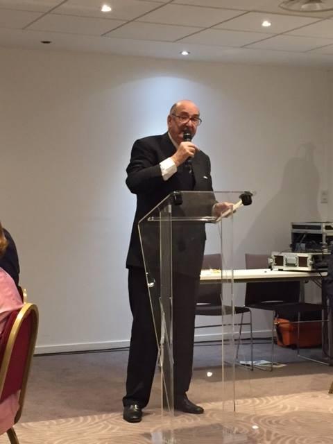 Maître Christian JEAN DIT CAZAUX à la conférence du Rotary Club Bordeaux