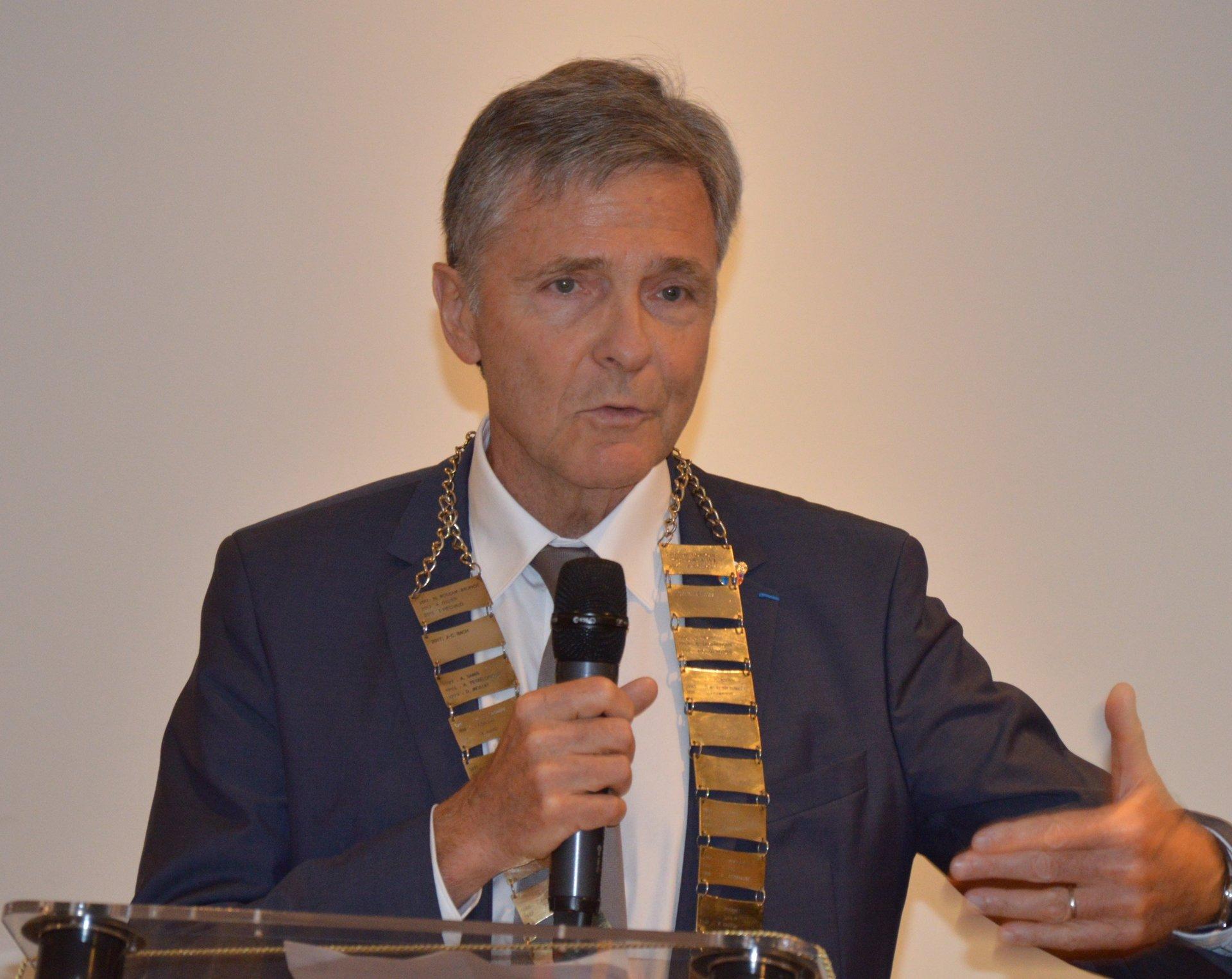 Rotary Club Bordeaux Jean-Claude Bach Président 2017 / 2018