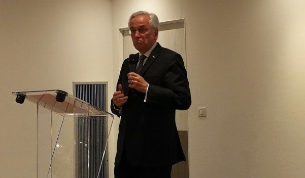 Photo André RIDE, conférence Rotary Club Bordeaux