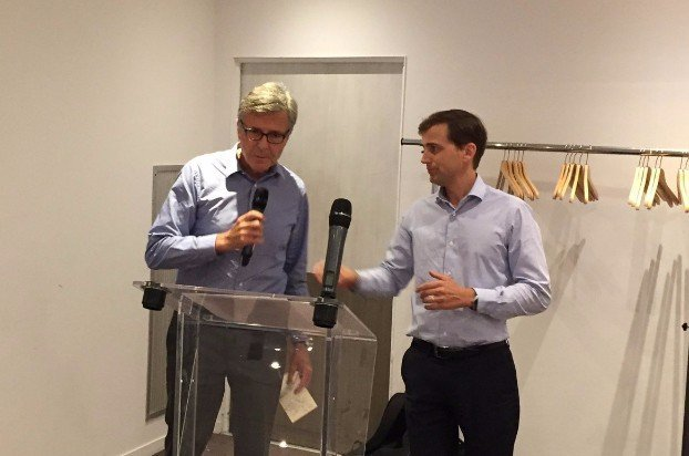 JC. BACH X. HEYMANS, présidents Rotary Club Bordeaux, juin 2017