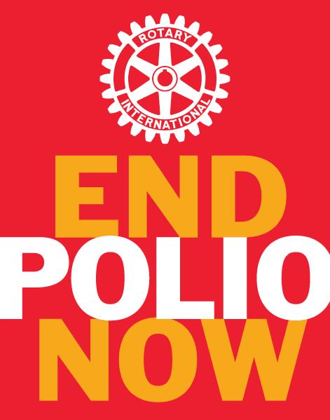 Logo End Polio Now, Rotary Club Bordeaux