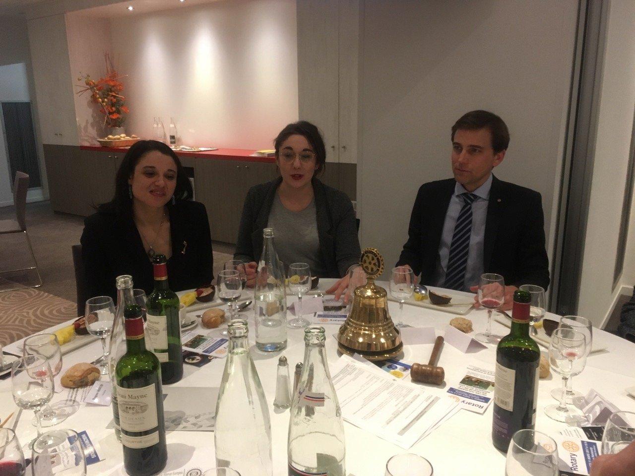 ICBM Audrey BERNAUD Omphale FORHA  RC Bordeaux HEYMANS 2017