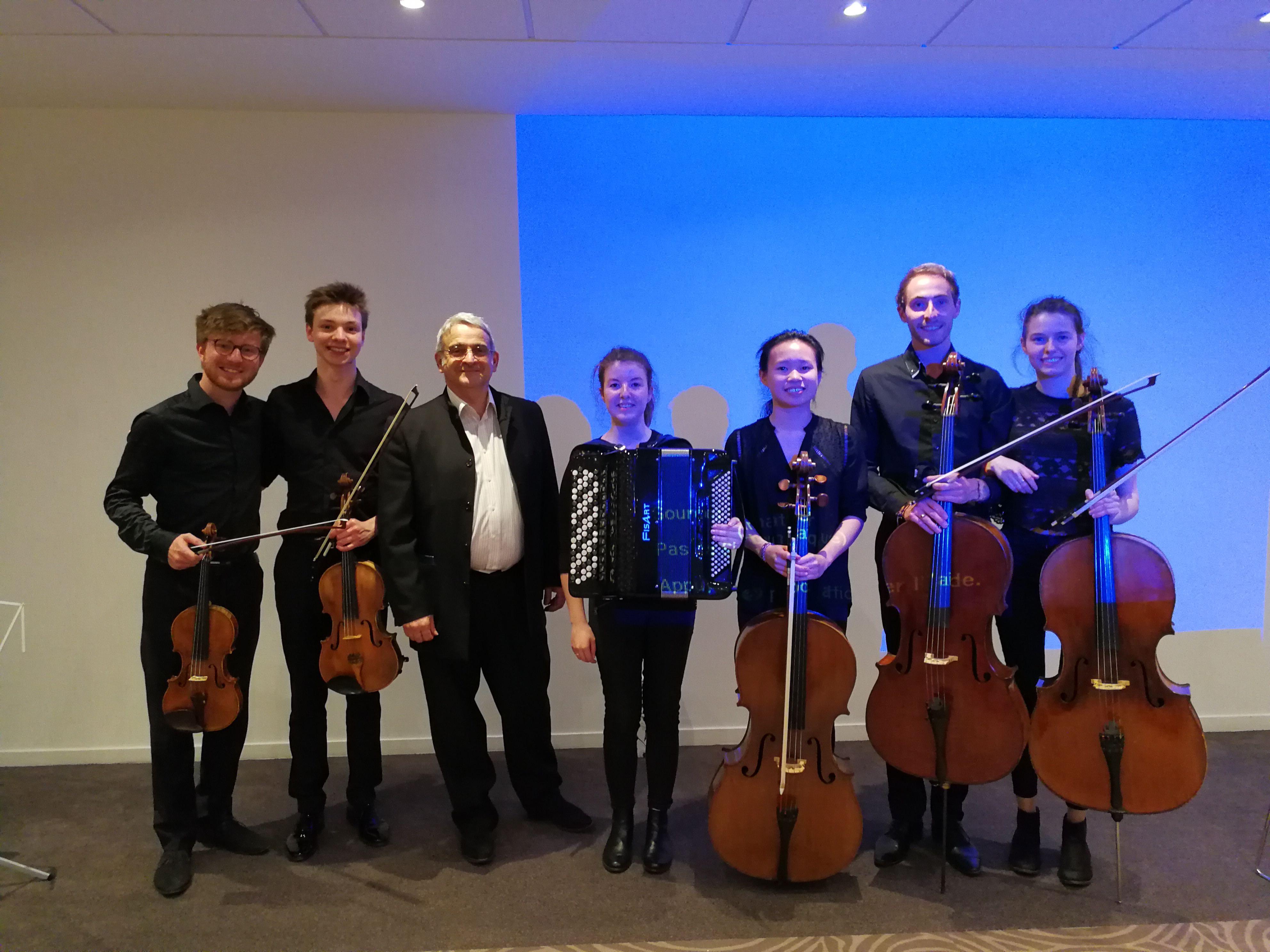 Photo Diner avec le Conservatoire de Bordeaux Jacques Thibaud, Rotary Bordeaux, Ensemble musical
