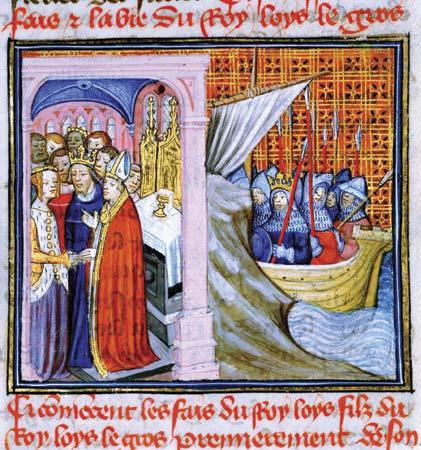 Image Mariage Louis VII Aliénor