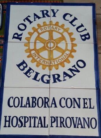Photo emblème Rotary Belgrano Argentine Rotary Bordeaux
