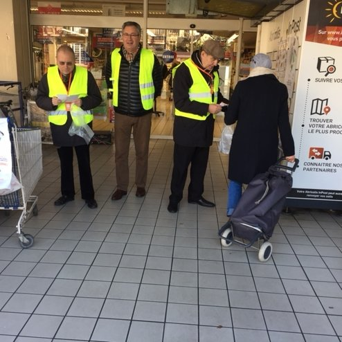 Rotary Club Bordeaux Collecte Banque Alimentaire