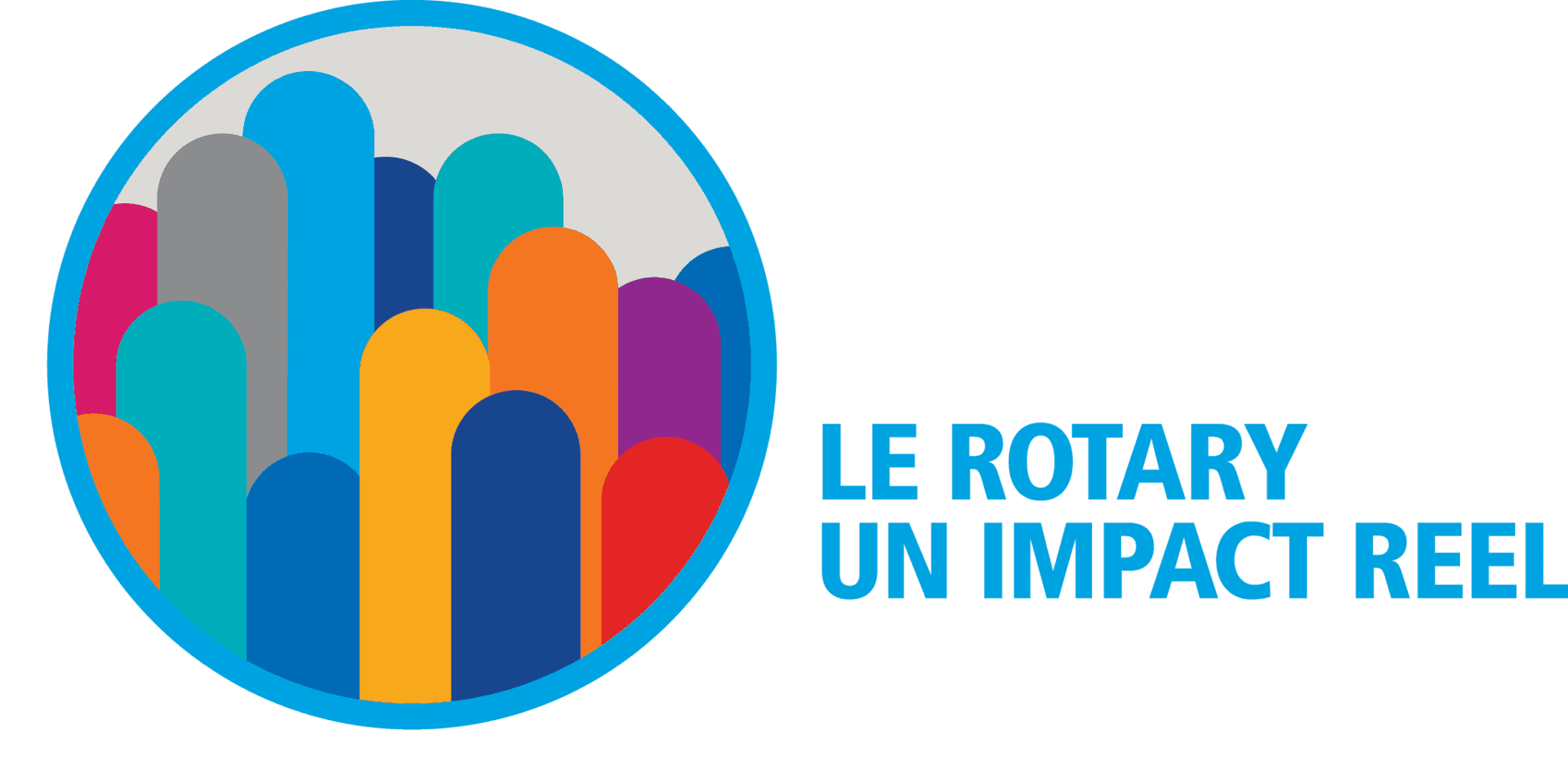Logo Rotary 2017-2018 Un impact réel