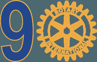 Logo 90 ans Rotary Club Bordeaux