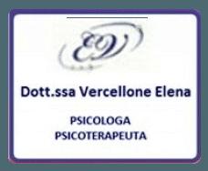 Vercellone Elena Psicologa Psicoterapeuta